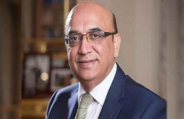 British Pakistani businessperson Zameer Choudrey, Chief Executive of Bestway Group