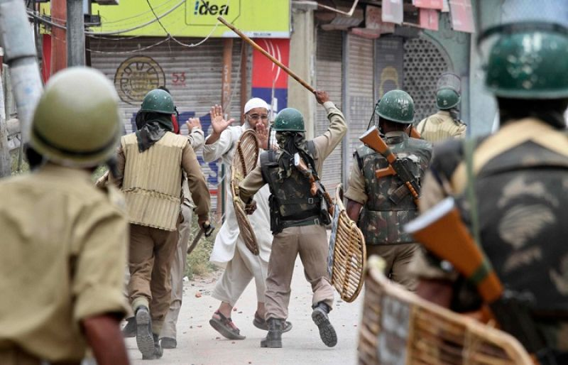 Image result for Army Illegally Occupying Kashmir