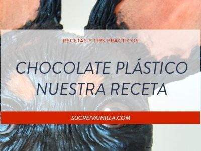 chocolate plastico receta