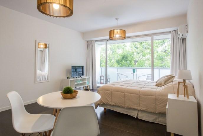 Apartamento Alquiler temporario dormitorio