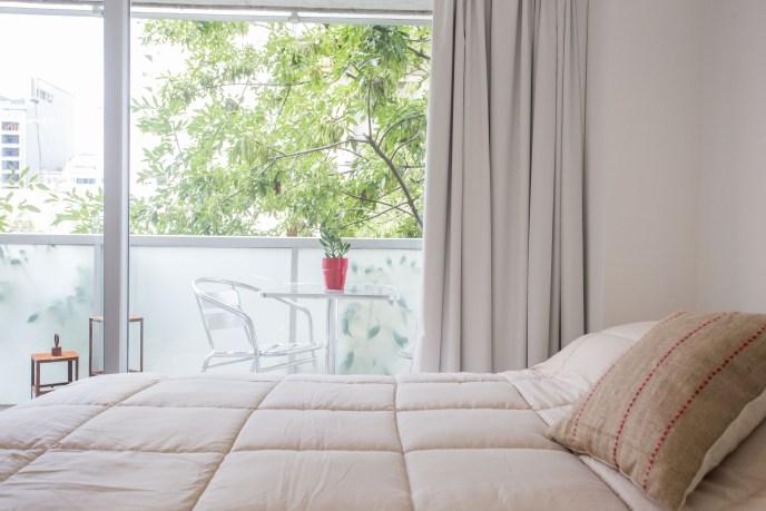 Apartamento Amoblado deluxe cama