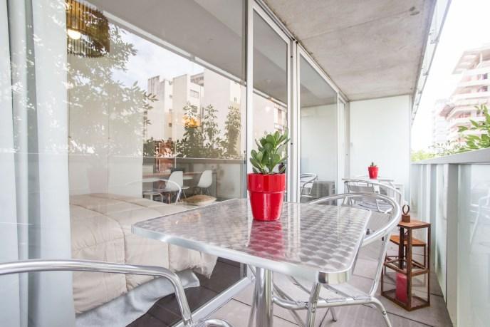 Apartamento Amoblado deluxe balcon