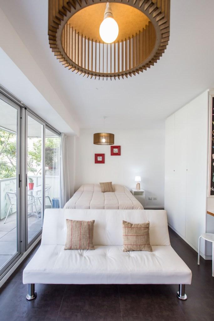 Apartamento Amoblado deluxe sillon cama