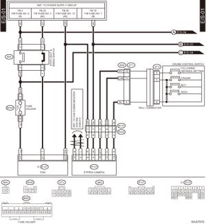 Subaru Crosstrek Service Manual  Eyesight system Wiring diagram  Wiring system
