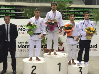Sylvain Goulet au tournoi de Montbeliard 2014