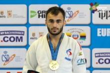 Luka Mkheidze / European Judo Open Madrid 2018. Crédit : European Judo Union / Gabriel Juan