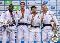 Axel Clerget aux championnats du Monde de Bakou 2018 / Crédit : IJF
