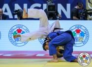 Grand Prix de Cancún : finale de Luka Mkheidze - Crédit : IJF / Grabiela Sabau