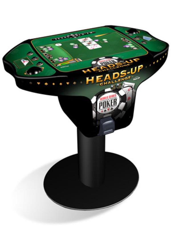 table de poker heads up challenge