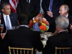 اوباما و بوتين