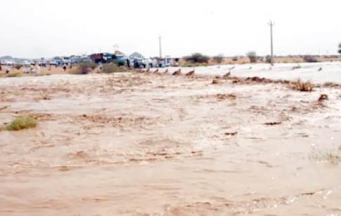 """""""الأرصاد"""" تتوقّع هطول أمطار بالبلاد حتى نهاية الأسبوع"""