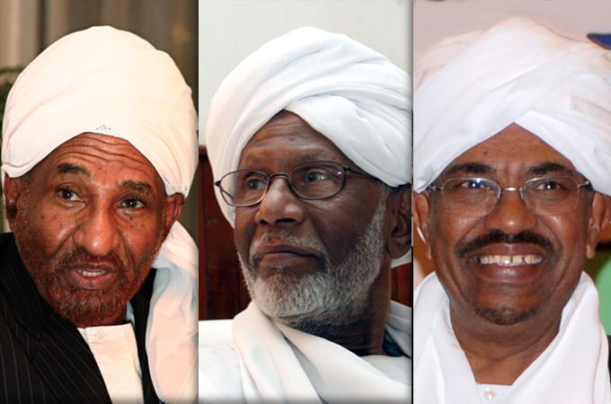 «تحقيق دستور دائم» و«وحدة المسلمين» المهدي والترابي..أحلام ما بعد الثمانين