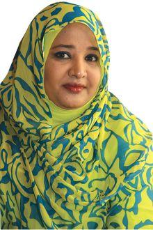 السيدة الأولى في السودان تحرج مراسل الشرق الأوسط
