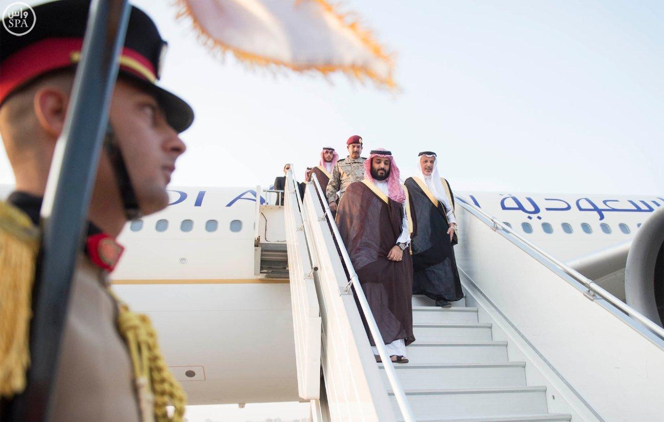 السيسي يلتقي محمد بن سلمان لتعزيز التنسيق العسكري