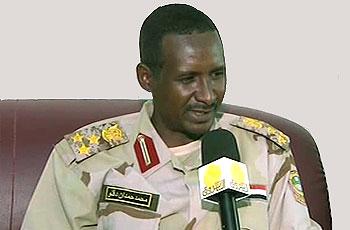 قوات الدعم السريع تؤكد حسم المظاهر الأمنية السالبة