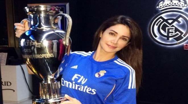بالصورة: ديانا حداد تعلن غضبها من ريال مدريد لهذا السبب