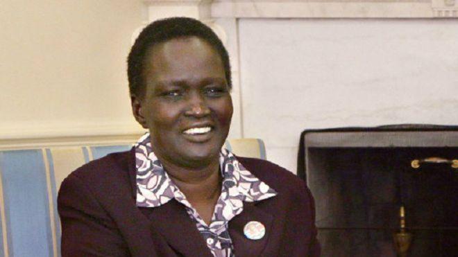 ربيكا قرنق: سياسيو جنوب السودان خذلوا شعبهم