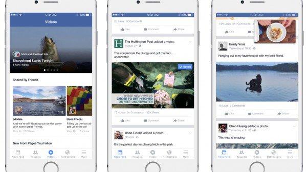 فيس بوك تختبر قسم جديد خاص بالفيديو داخل تطبيقها على الأجهزة الذكية