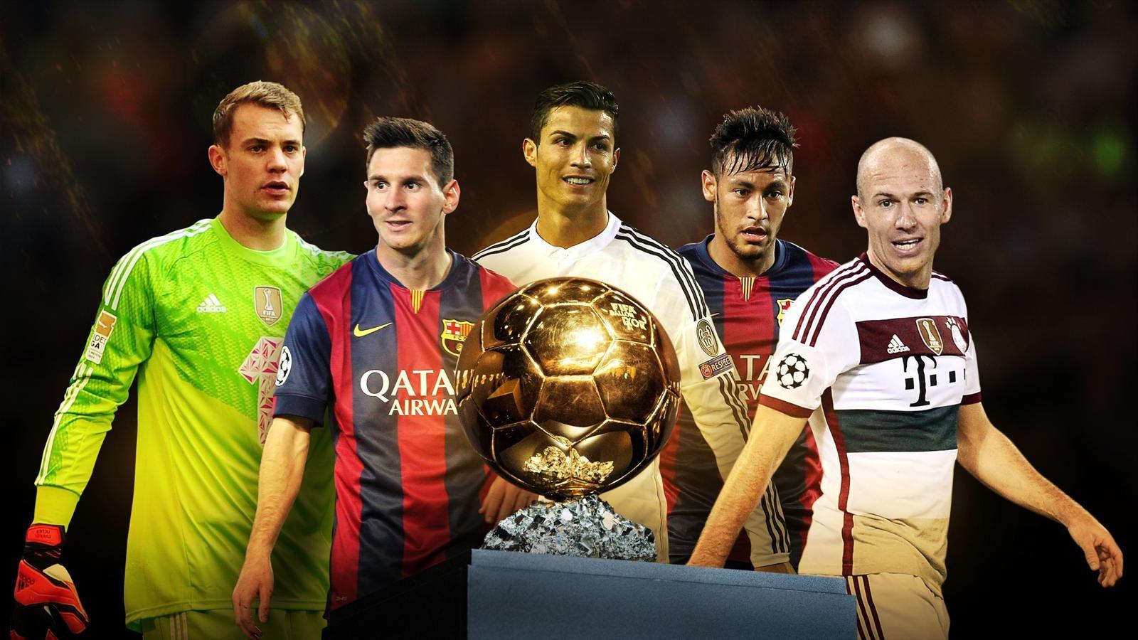 ميسي .. رونالدو أم نيمار .. من سيحمل الكرة الذهبية؟