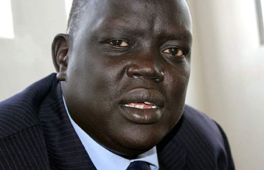 South Sudan deputy minister of foreign affairs Deng Dau Deng [Photo by unknown]