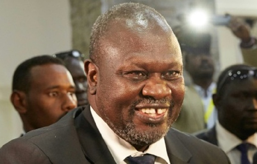 South Sudan First Vice President Dr. Riek Machar Teny [Photo by unknown]