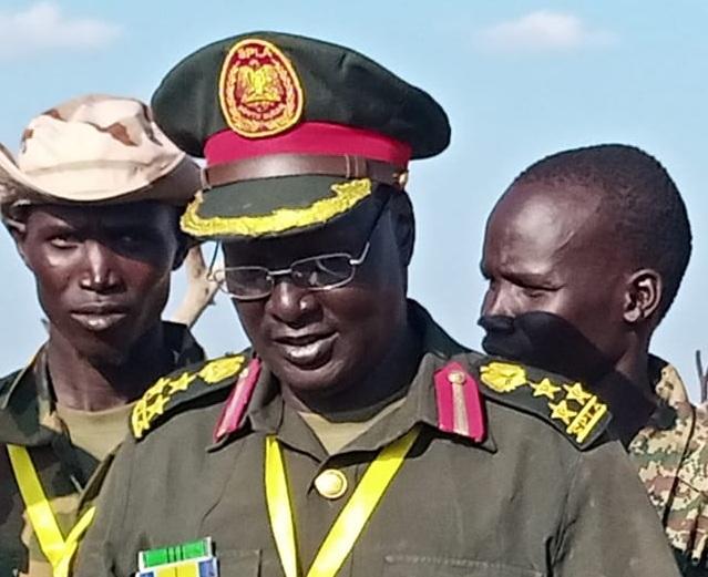SPLA-IO Kitgwang spokesman William Gatjiath Deng. [Photo via Facebook]