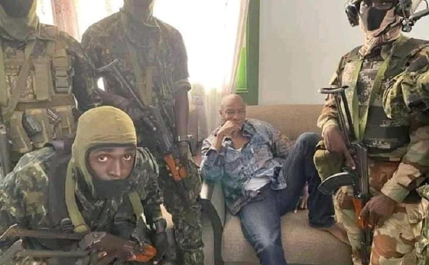 Guinean President Alpha Conde[Photo via Facebook]