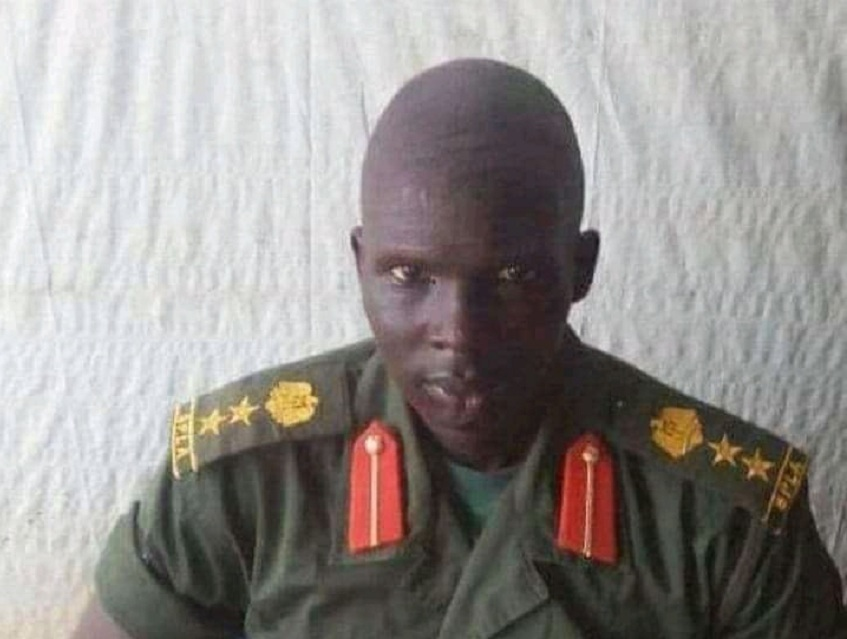 Brigadier Luka Ghar Goal Riak. [Photo via Facebook]