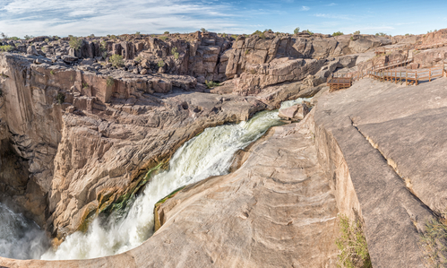 Augrabies Falls in the Orange River