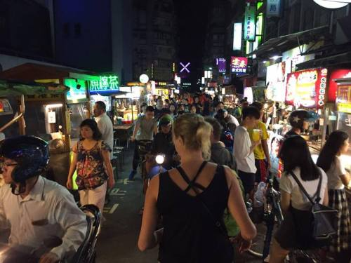 Night market in Taiwan