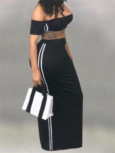 2 piece maxi skirt set
