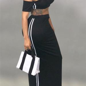 2 piece maxi skirt set