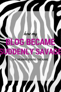 Naming my blog