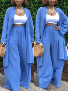Slouchy pant set