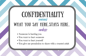 Confidentiality Poster