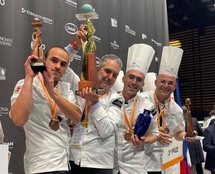 Italia campione del mondo di pasticceria