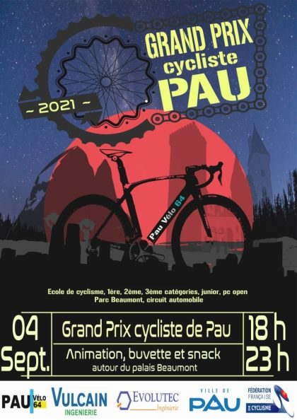 few entries within the Grand Prix of town of Pau at night time