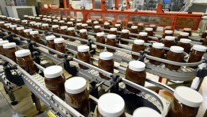 France: sixième jour de blocage de la plus grosse usine de Nutella au monde