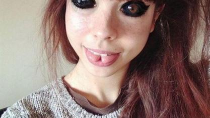 Aleksandra perd la vue après s'être fait tatouer les globes oculaires: elle demande 350.000 euros de dédommagement (photos)