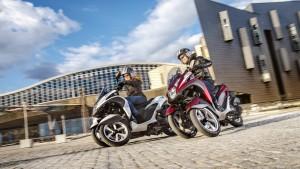 Grâce à son châssis unique à 3 roues, le Tricity est un véhicule urbain léger et intuitif conçu pour satisfaire les désirs de nouveaux conducteurs.