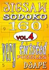 Jigsaw Sudoku book, volume 4