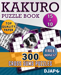 Kakuro Puzzle Book for Adults 300 Cross Sums