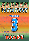 Sudoku Variations, volume 3