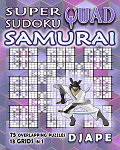 Super Quad Sudoku Samurai book