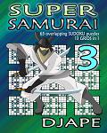 Super Samurai Sudoku book, volume 3