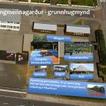 Vinnu við fyrsta áfanga ungmennagarðsins í Grindavík að ljúka