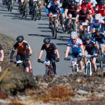 Sprenging í þátttöku í Bláa lóns þrautinni – Yfir 1.000 manns hjóla í gegnum Grindavík