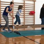 Fulltrúi frá Special Olympics International heimsótti Heilsuleikskólann Háaleiti