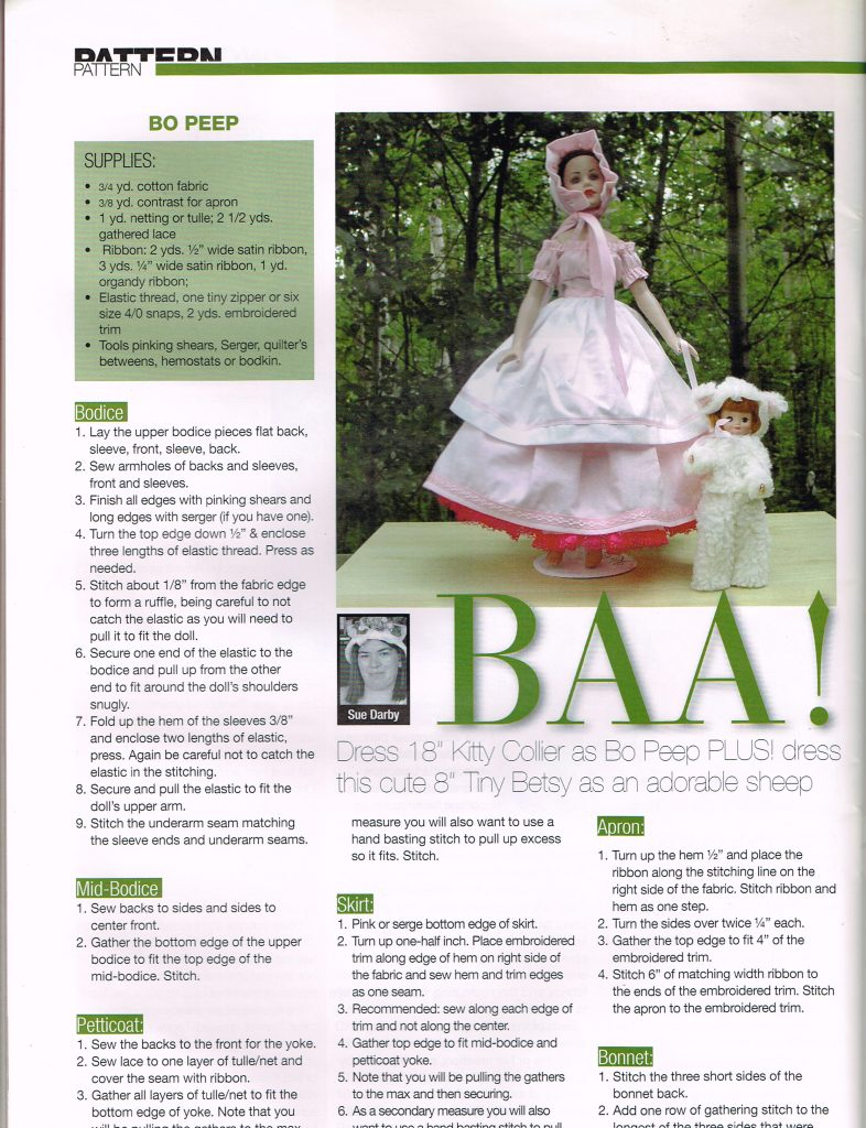 Published Bo Peep