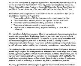 GRF Media Release 20/3/17
